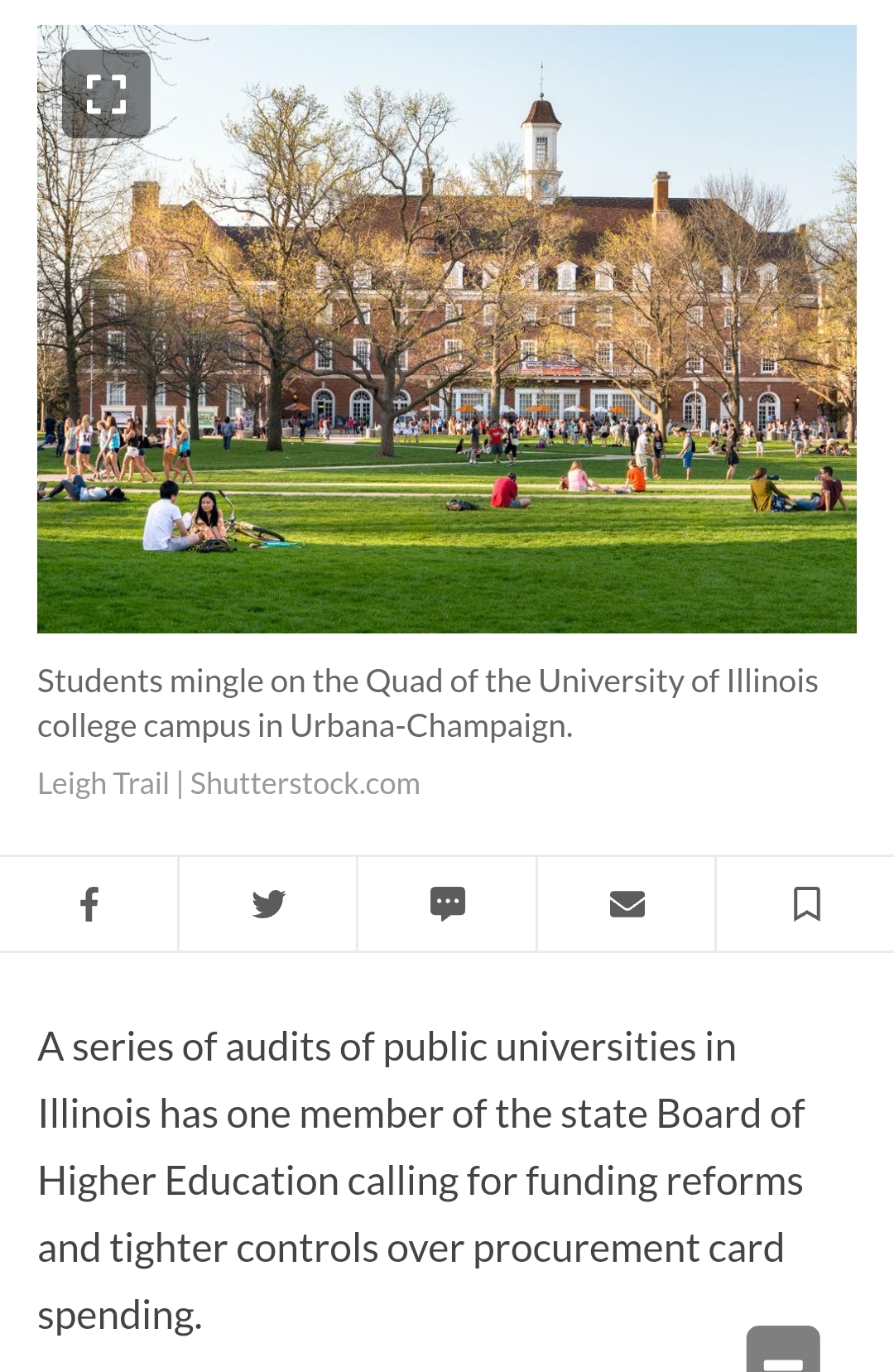 University audit raises questions